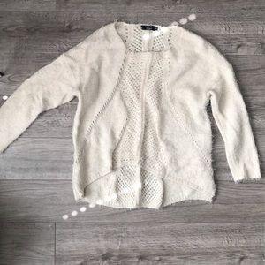 Paper Heart Fuzy Sweater